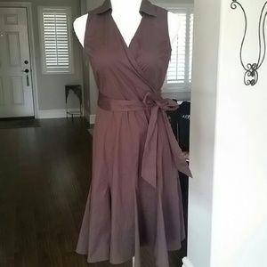 ANN TAYLOR | Faux Wrap Dress